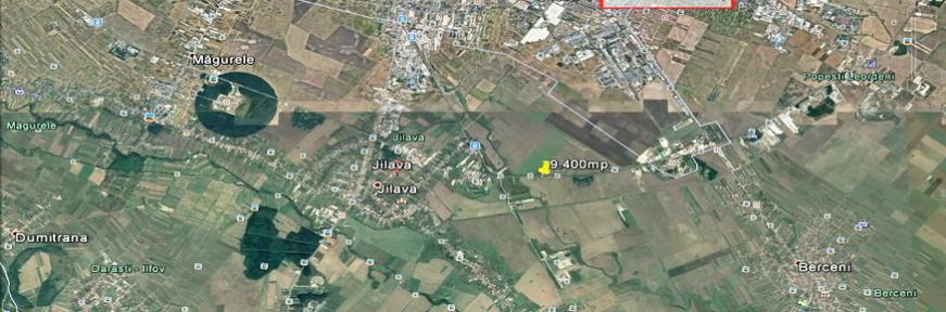 teren Jilava. 9.400mp